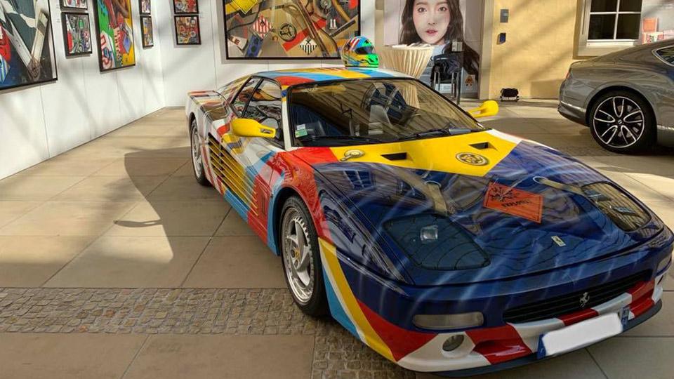 Transport - Ferrari 512 M7 by Peter Klasen de Monaco à Paris ...